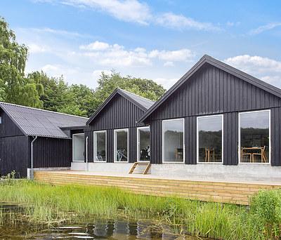 Ny 100 m2 tilbygning med KPK og Velux vinduer til roklub i Sorø nær Slagelse