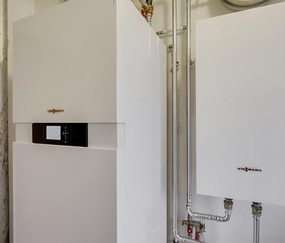 Ny lydsvag luft-til-vand varmepumpe fra Viessmann til hus i Hørsholm