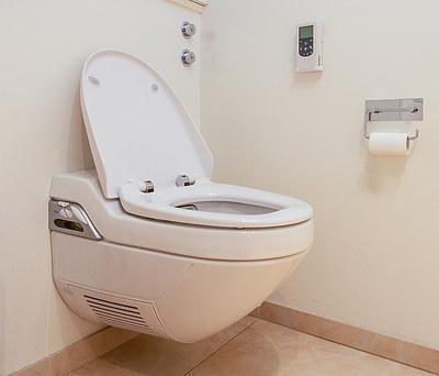 Nyt Geberit AquaClean toilet i Holstebro
