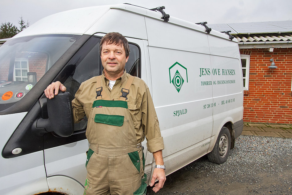 Jens Ove Hansen. Tømrer og Bygningssnedker ApS 10