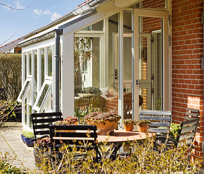 Ny 16 m2 udestue/havestue med nye Kastrup vinduer og Profile gulv i Herning