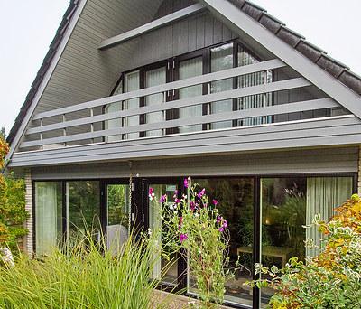 Nye døre- og vinduespartier fra Kastrup vinduet til hus i Herning