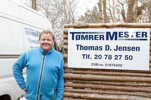 Tømrermester Thomas D. Jensen