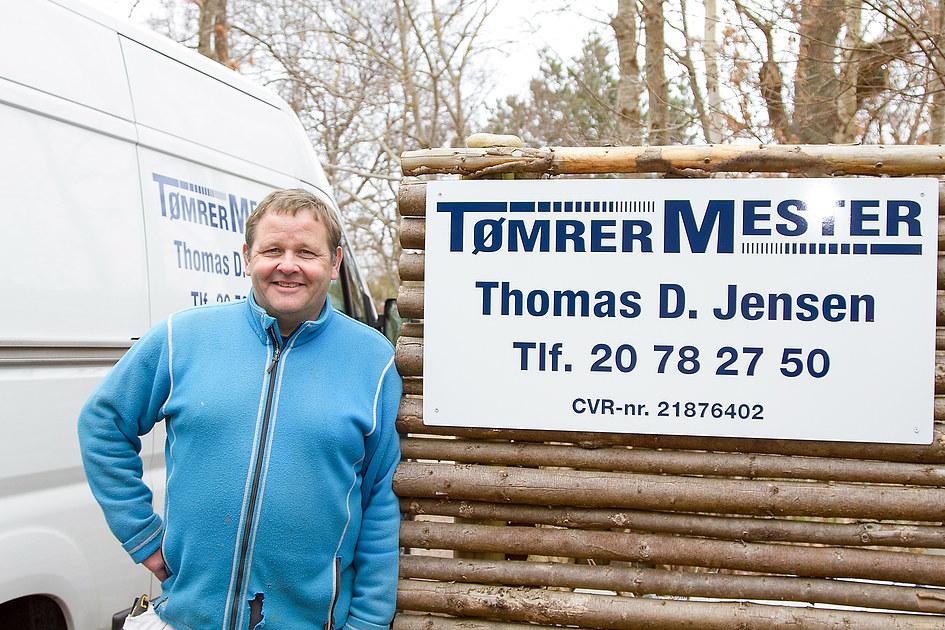 Tømrermester Thomas D. Jensen 1