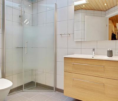 Nyt 5 m2  badeværelse i Taastrup nær København