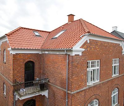 Nyt 100 m2 tag med Randers Tegl samt ny taglejlighed i Svendborg, Fyn