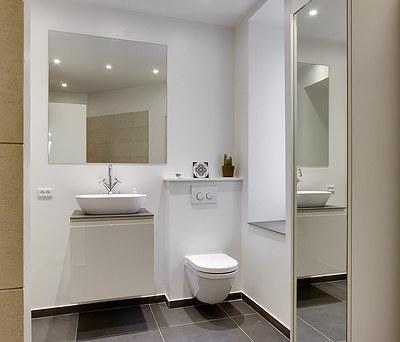 Nyt badeværelse med Geberit toilet på Frederiksberg