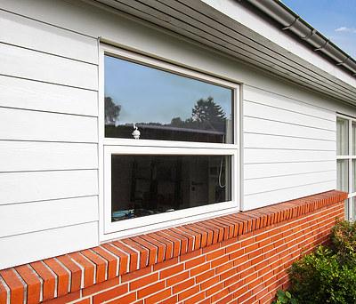 Nye vinduer fra Outline samt facaderenovering i Greve nær København