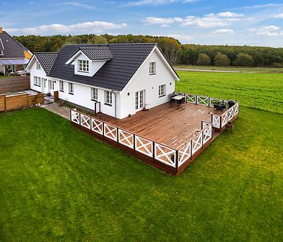 Totalrenovering af hus inkl. nyt Cembrit tegltag og Vordingborg Køkken i Ølstykke nær Frederikssund