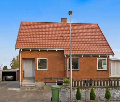 Nyt 135 m2 Decra ståltag til hus i Løsning nær Horsens