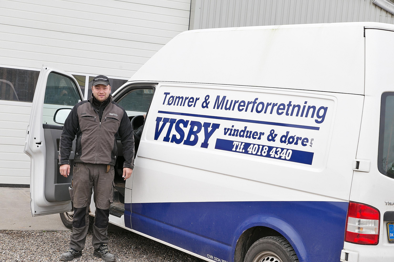 Tømrer & Murerforretning Visby Vinduer og Døre ApS