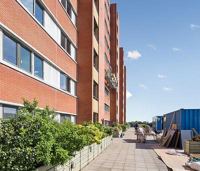 Facaderenovering og nye Velfac vinduer til andelsboligforening i Ishøj nær København