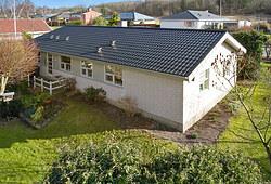 Nyt 190 m2 tag med Profilmetal ståltagplader i Gistrup nær Aalborg