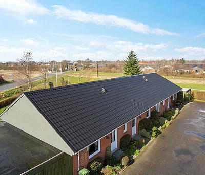 Nyt ståltag med Profilmetal ståltagplader i Aabenraa, Sønderjylland