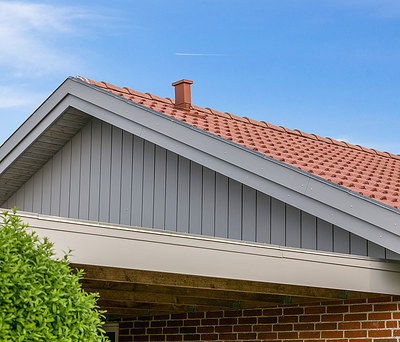 Renovering af gavle på hus i Solbjerg nær Skanderborg