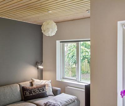 6 nymalede værelser i hus i Birkerød syd for Hillerød
