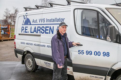 Aut. VVS-Installatør P.E.Larsen A/S