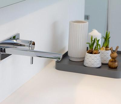 Nyt badeværelse med Geberit AquaClean toilet og Damixa bruser i Aalborg