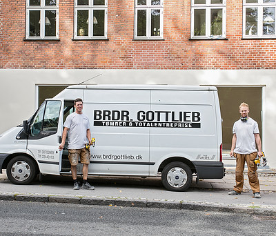Brødrene  Gottlieb tømrer &  Total entreprise Aps