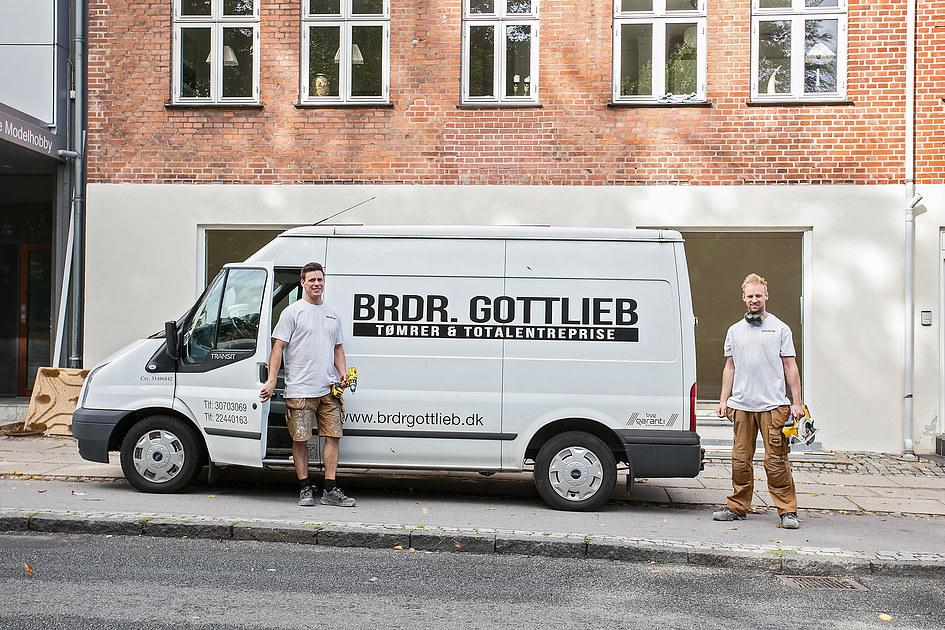 Brødrene  Gottlieb tømrer &  Total entreprise Aps 1