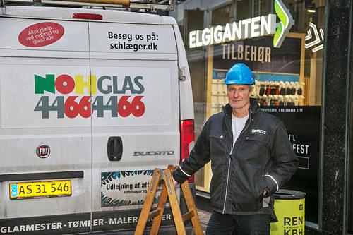 Lokalglas v Schlæger A/S