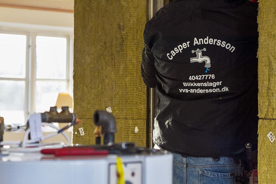 Blikkenslagermester Casper Andersson 6