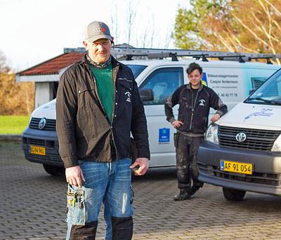 Blikkenslagermester Casper Andersson