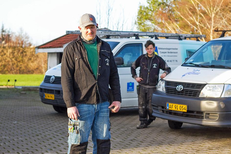 Blikkenslagermester Casper Andersson 3