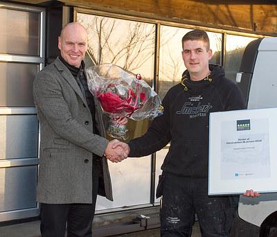 Vinder af håndværker.dk-prisen 2016