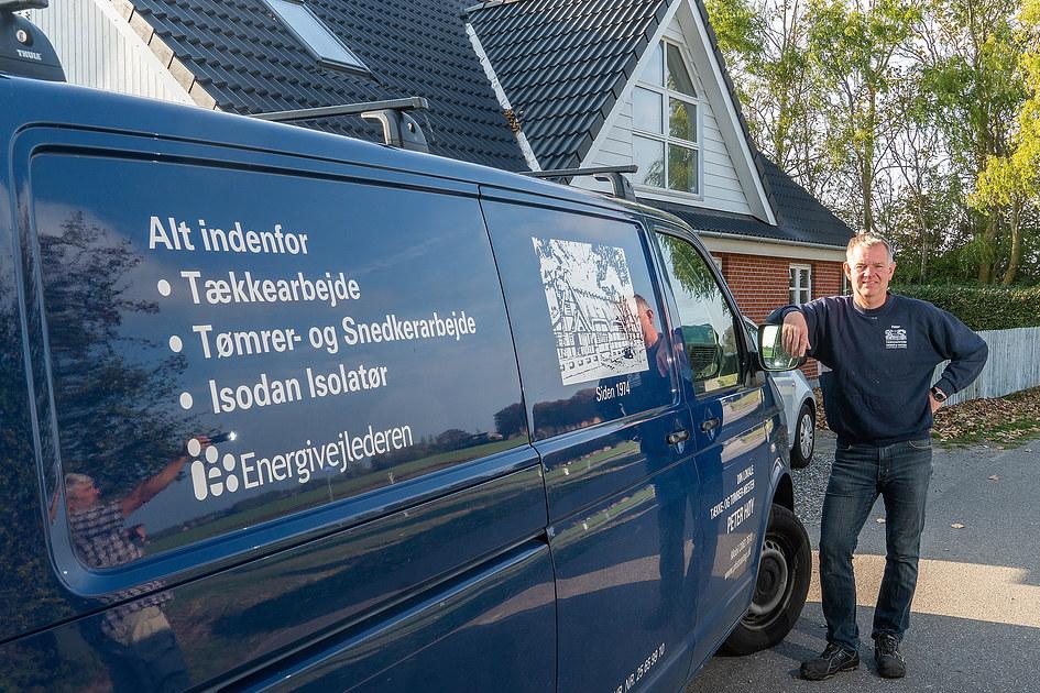 Tække & Tømrermester Peter Høy 1